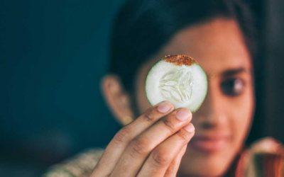 Mascarilla de pepino para las ojeras: ¿realmente funciona?
